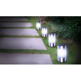 Lampe borne solaire Inoxia