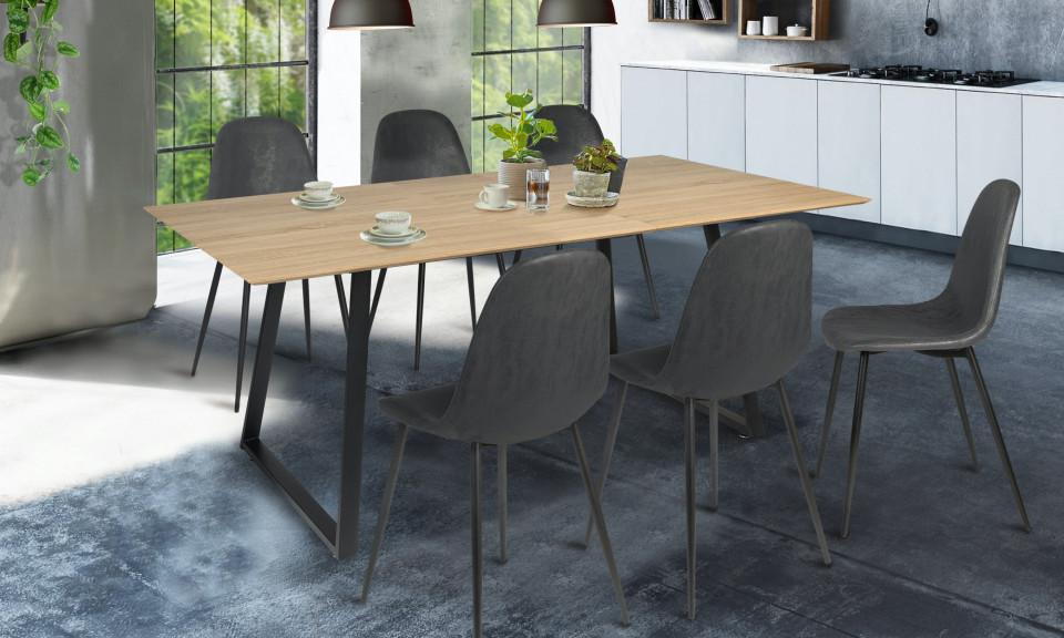 Table extensible 150-180cm Sydney