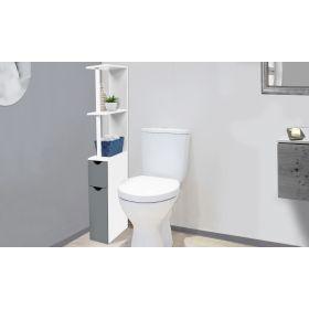 Étagère WC 2 portes