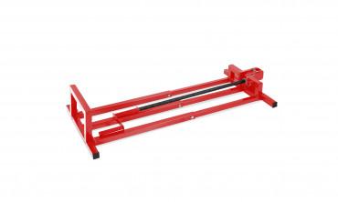 Lève tracteur pliable rouge