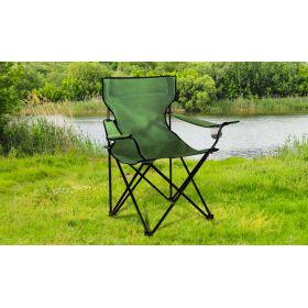 Fauteuil camping/pêche avec housse vert
